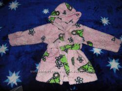теплый халатик для девочки