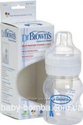 Бутылочкы для кормления с широким горлышком Dr. Browns Natural Flow