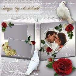 Дизайн фотокниги, рамок, открыток, календарей