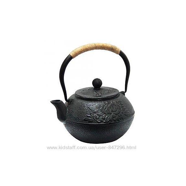 Чугунные чайники и чашки