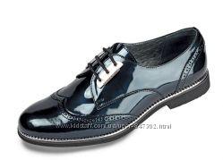 Лакированные кожаные туфли Мида
