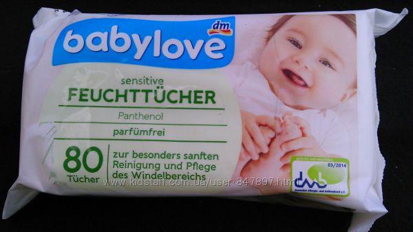Baby Love дитячі вологі серветки - 80 шт