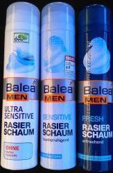 Balea men rasier schaum - Пінка для гоління - 2 види - 300мл