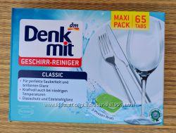 Акція. Denkmit Geschirr reiniger Classic - посудомийні таблетки. 65 шт