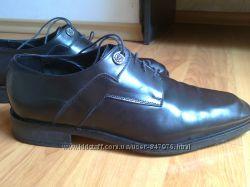 Черные красивые туфли Италия 45 разм. стелька 30 см