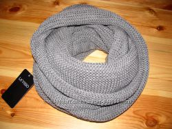 Хомут, снуд, шарф женский серый