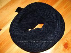 Хомут, снуд, шарф женский темно синий