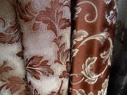Портьерная ткань двустороняя.