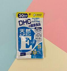 Витамин Е Япония DHC Vitamin E 30 дней