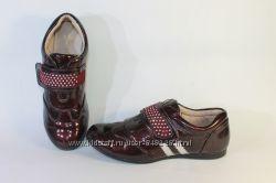 Туфли  кожаные школьные 35  размер