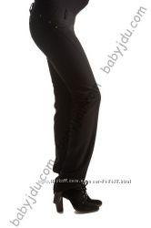 Узкие брюки для беременных, на живот