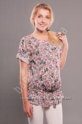 Блузка рубашка для беременных, свободная