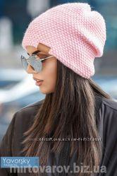 Женская вязанная шапка. 164. Много расцветок.