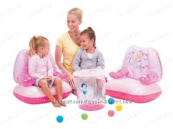 Набор надувной мебели - отличный вариант для путешествий и экономии места