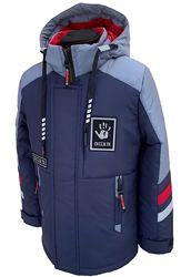 Куртка-парка демисезонная со светоотражающими вставками от 128 до 164, хит