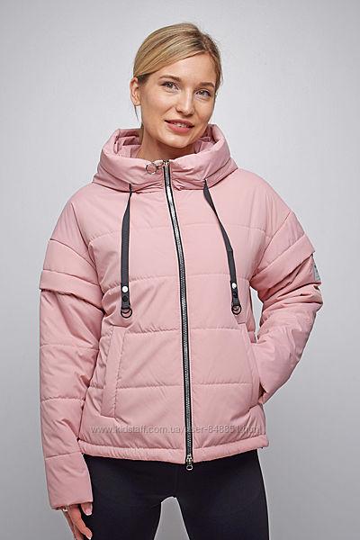 Куртка-жилетка демисезонная молодежная 2 в 1 от 42 до 52 р, тренд весны