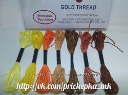 Нитки мулине для вышивания, сшивания фетра, рукоделия