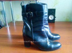 Кожаные итальянские ботинки