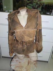 Продам женскую кожаную куртку.
