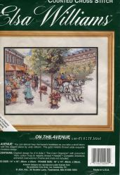 Elsa Williams On The Avenue - набор для вышивки