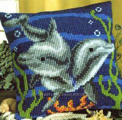 Подушка VERVACO - Дельфины