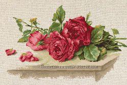 Набор для вышивки Красные розы