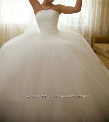 Самое красивое свадебное платье как у Золушки Цену Снизила