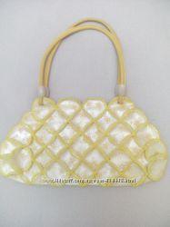 Жёлтая сумочка. Кожзам.