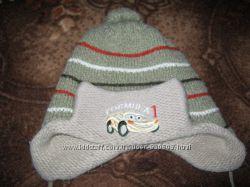 шапка, шапочка зимняя, зима на мальчика 2-3 года