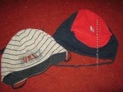 шапка на мальчика 7-12м