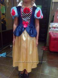 карнавальное платье белоснежки
