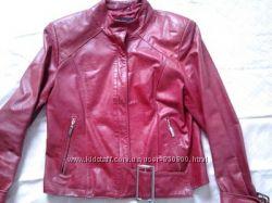 Фирменная куртка, пиджак, косуха  Dilander натуральная кожа, оригинал