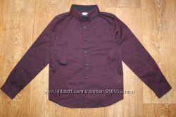 Фирменные рубашки F&F, Rebel на мальчика 8-9лет. 128-134см. Хлопок.