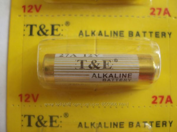 Батарейка алкалиновая 27A 12 V Элементы питания