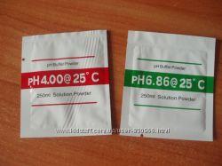 Калибровочный раствор порошок в пакетиках для pH метров 2 шт
