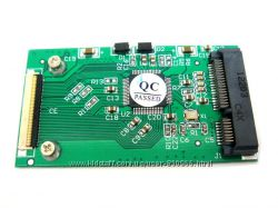 Адаптер переходник mSATA mini PCIe SSD to ZIF 40 pin