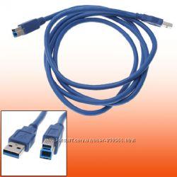 Кабель USB 3. 0 тип A-B для принтера 1, 5 метра