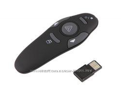 2, 4 USB Беспроводной презентер с лазерной указкой