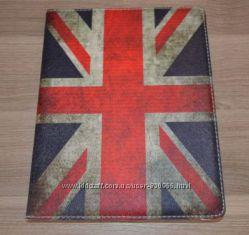 Чехол для iPad 2 3 4 Apple Британский Американский флаг ретро