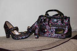Комплект атласные туфли Skerry и сумка.