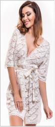 Красивый женский халатик кружевной   Польша