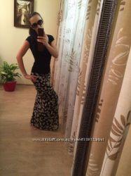 Шикарная юбка Love Moschino 100 шелк. Оригинал.