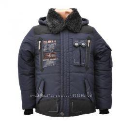 Стильная теплая куртка на морозы от 146 до 164