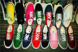 Кеды мокасины спортивная обувь Vans