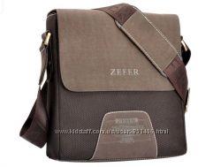 Качественные мужские бизнес сумки ZEFER и POLO VIDENG кожа