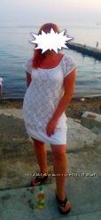 Легкое кружевное платье
