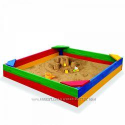 Детские песочницы, разные - Квадрат, Домик, Машинка, Кораблик
