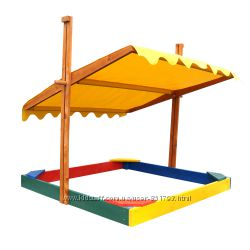 Песочницы  со скамейками, крышей По мега выгодной цене