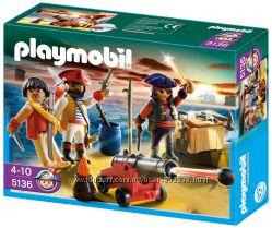 Playmobil 5136 Команда пиратов и пушка
