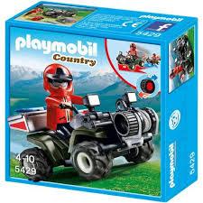 Playmobil 5429 квадроцикл инертный